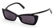 खरीदें अथवा मॉडल DSquared2 Eyewear के चित्र को बड़ा कर देखें DQ0347-01A.