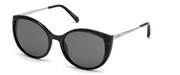 खरीदें अथवा मॉडल Swarovski Eyewear के चित्र को बड़ा कर देखें SK0168-01A.