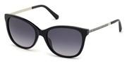 खरीदें अथवा मॉडल Swarovski Eyewear के चित्र को बड़ा कर देखें SK0218-02B.