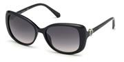 खरीदें अथवा मॉडल Swarovski Eyewear के चित्र को बड़ा कर देखें SK0219-01B.